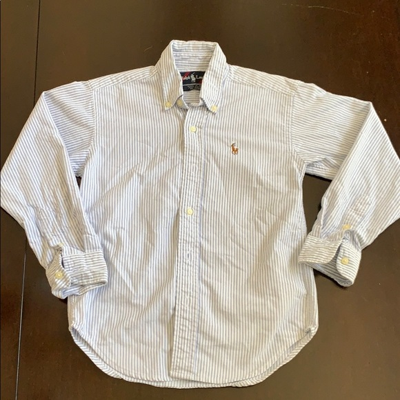 Ralph Lauren size 6 long sleeved button down
